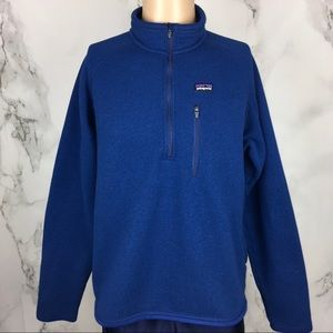 Patagonia Better Sweater Blue Quarter Zip